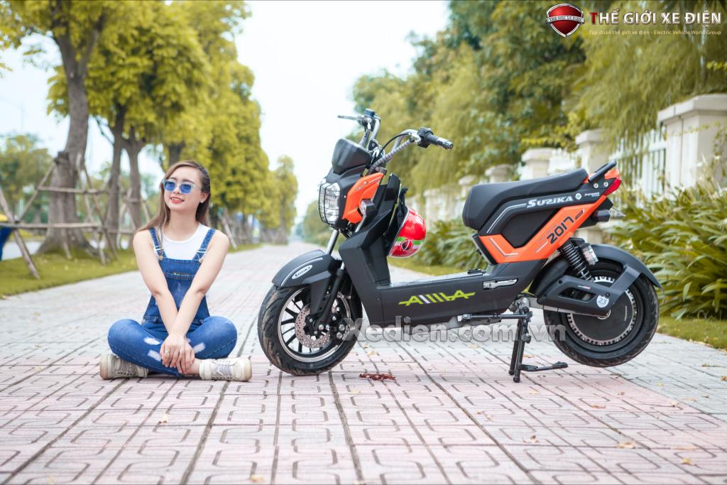 Những mẫu xe máy điện dành cho phái mạnh phổ biến hiện nay