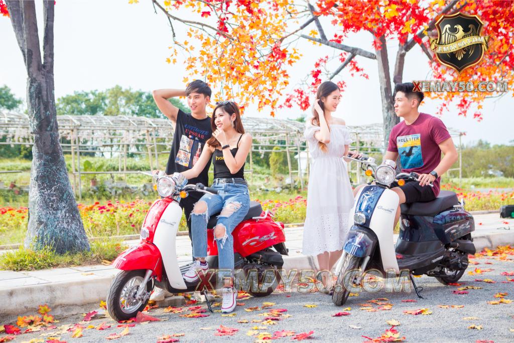 xe ga Scoopy 50cc Việt Thái
